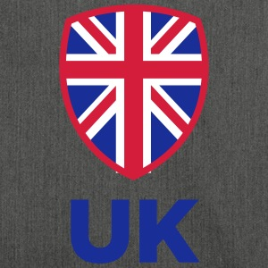 National Flag Of The United Kingdom - Shoulder Bag made from recycled material