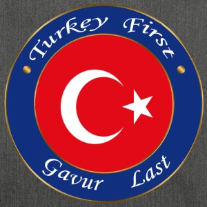 Turkey FIRST - Shoulder Bag made from recycled material