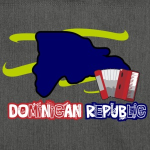 Dominican Republic Music - Shoulder Bag made from recycled material