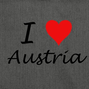 I Love Austria - Shoulder Bag made from recycled material