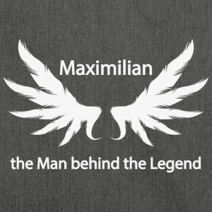 Maximilian the Man behind the Legend - Schultertasche aus Recycling-Material