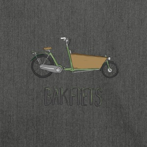 Die Bakfiets - Schultertasche aus Recycling-Material