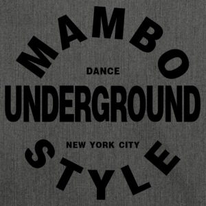 Mambo Underground Style - Salsa Dance Shirt - Shoulder Bag made from recycled material