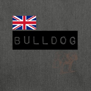 British Bulldog - Shoulder Bag made from recycled material