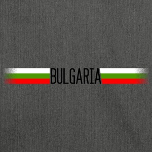 Bulgaria Flag / Banner 005 AllroundDesigns - Shoulder Bag made from recycled material