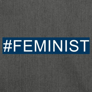 #Feminist marine - Schultertasche aus Recycling-Material