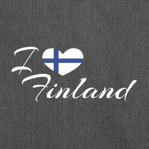 LoveFinland - Borsa in materiale riciclato