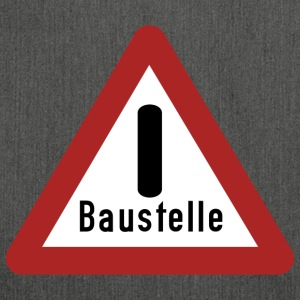 Baustelle - Schultertasche aus Recycling-Material
