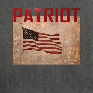 Patriot USA TShirt - Shoulder Bag made from recycled material