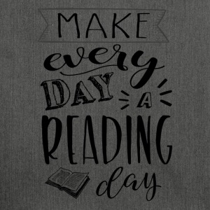 Make every day a reading day - Schoudertas van gerecycled materiaal