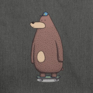 orso di skateboard - Borsa in materiale riciclato