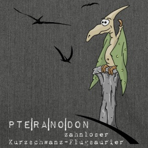 Pteranodon Flying Dinosaur Dinosaur gifts - Shoulder Bag made from recycled material