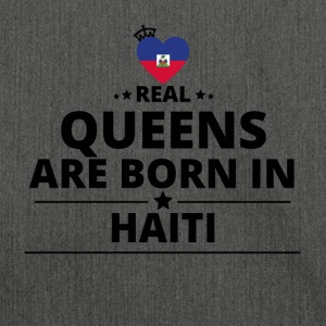 QUEENS regalo di amore da Haiti - Borsa in materiale riciclato