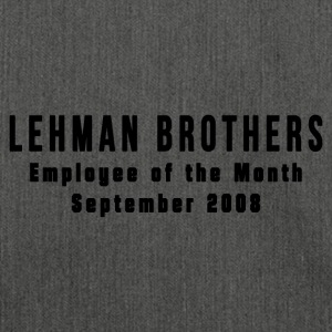 Lehman Brothers - Schultertasche aus Recycling-Material