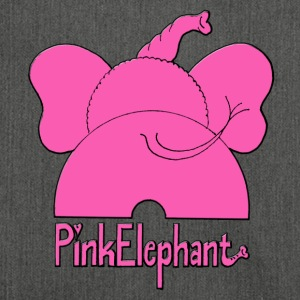 Pink Elephant - Schultertasche aus Recycling-Material