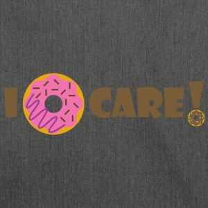 Ich Donut Care - Schultertasche aus Recycling-Material