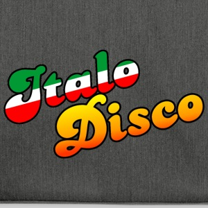 ITALO DISCO MUSIC - Schultertasche aus Recycling-Material