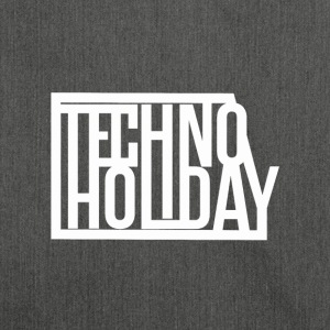 Techno Holiday - Skuldertaske af recycling-material