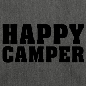 Happy Camper - Schultertasche aus Recycling-Material