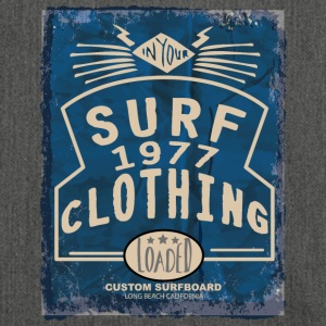 surf clothing - Schultertasche aus Recycling-Material