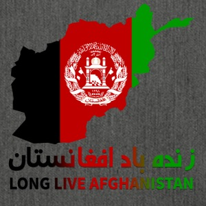 LONG LIVE AFGHANISTAN - Schultertasche aus Recycling-Material