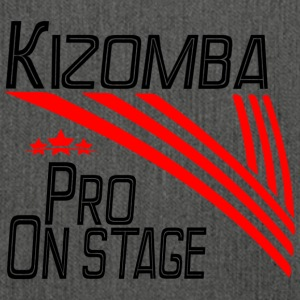 Kizomba Pro - On Stage black - Pro Dance Edition - Shoulder Bag made from recycled material