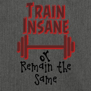 Train Insane - Borsa in materiale riciclato