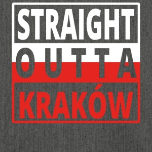 Straight outta Polska Krakow - Shoulder Bag made from recycled material