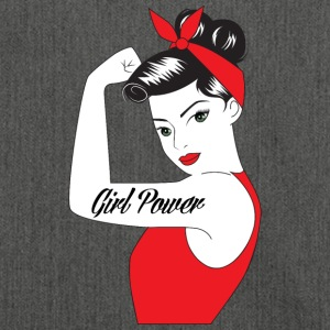 Pin-up / Rockabilly / '50: Girl Power - Borsa in materiale riciclato