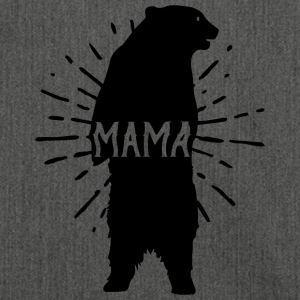 Mama Bear Mothers Day - Mother 's Day - Shoulder Bag made from recycled material