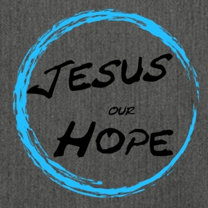 Jesus our hope - Shoulder Bag made from recycled material