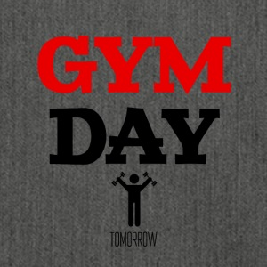 Gym Day Tomorrow - Schoudertas van gerecycled materiaal