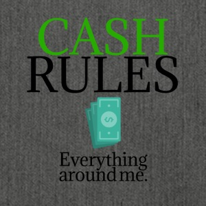 Cash rules - Schultertasche aus Recycling-Material