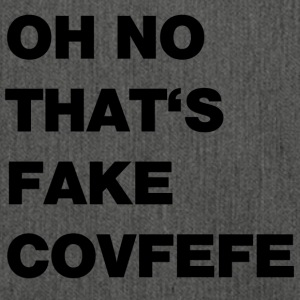 Fake covfefe - Shoulder Bag made from recycled material