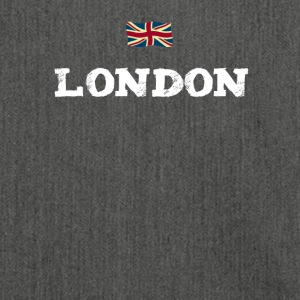London England Flagge brexit eu Insel englisch lol - Schultertasche aus Recycling-Material
