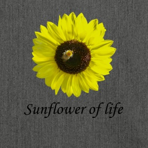 "Sunflower of life ""Sunflower of life"" - Shoulder Bag made from recycled material"