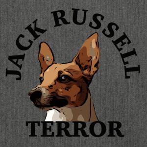 Jack Russell terror4 black - Shoulder Bag made from recycled material
