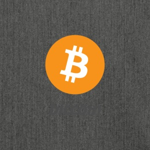 Bitcoin Classic Design - Schultertasche aus Recycling-Material