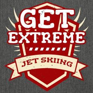 Funny Get Extreme Jet Skiing T-Shirt Jetski - Shoulder Bag made from recycled material