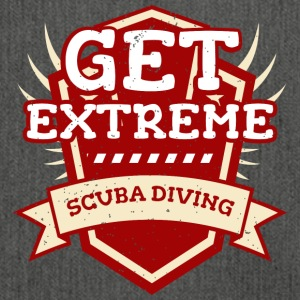 Get Extreme Scuba Diving T-shirt device dives - Shoulder Bag made from recycled material
