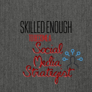 Social Media Strategist - Skuldertaske af recycling-material
