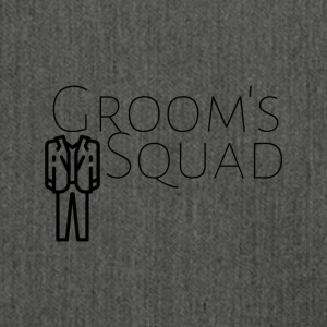 Grooms squad - Shoulder Bag made from recycled material