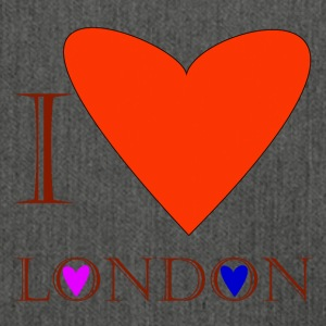I Love London 1C - Shoulder Bag made from recycled material