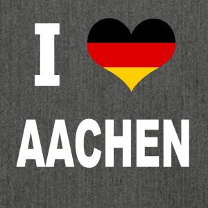 I Love Germany AACHEN - Shoulder Bag made from recycled material