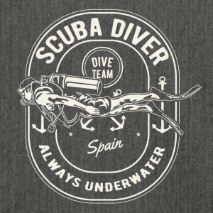 Scuba Diver Team Spain Diving dive shirt - Shoulder Bag made from recycled material