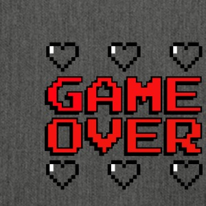 game over - Skuldertaske af recycling-material