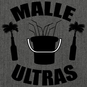MALLE ULTRAS black - Shoulder Bag made from recycled material
