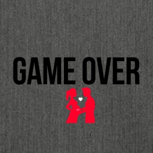 Game over - Schultertasche aus Recycling-Material