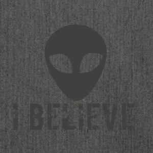 I believe logo - Shoulder Bag made from recycled material