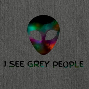I SEE GREY PEOPLE - Shoulder Bag made from recycled material